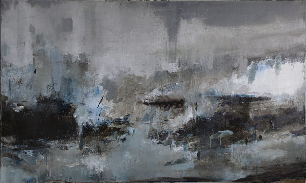 Timothy Wilson, Storm II, oil on canvas, 36 x 60 in., 2015. Image courtesy of the artist.