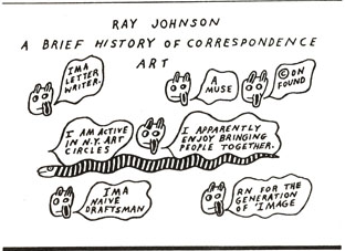Ray Johnson, Brief Correspondence