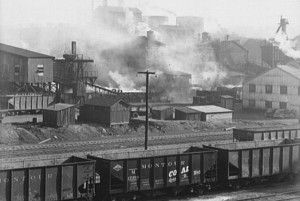 A coal-cleaning plant near Pittsburgh. John Collier / Library of Congress 13.5k