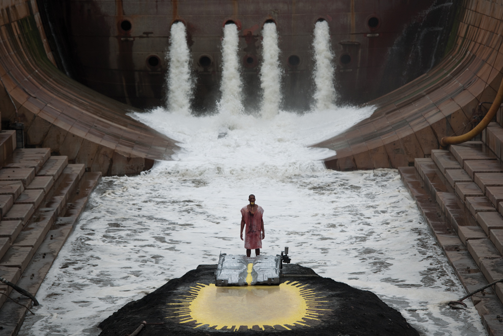 Matthew Barney and Jonathan Bepler, RIVER OF FUNDAMENT: BA, 2014, Production Still. Photo: Hugo Glendinning © Matthew Barney, Courtesy Gladstone Gallery, New York and Brussels.