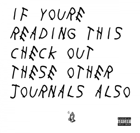If You're Reading This, Check Out These Other Journals Also