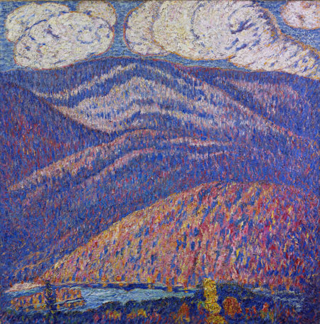 Hall of the Mountain King, ca. 1908-9, Oil on canvas, 30 x 30 in. (76.2 x 76.2 cm). Crystal Bridges Museum of American Art, Bentonville, Arkansas 2010.94