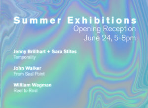 """Summer Exhibitions Opening Reception"""